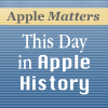 Play this podcast This Day in Apple History